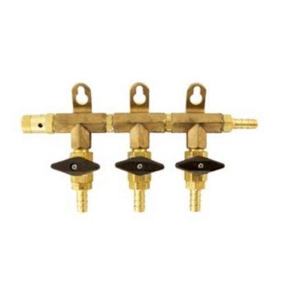 Gas Manifold - 3 Way - D1805