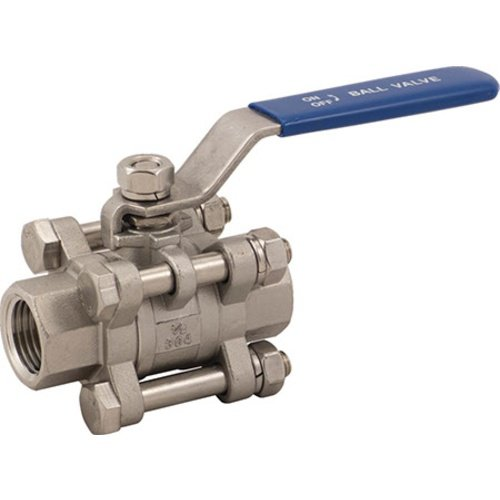 Stainless Ball Valve - 1/2 in - 3 Piece - H602D