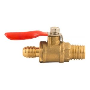 Shutoff With Check Valve - 1/4 in MPT x 1/4 in MFL - D1121