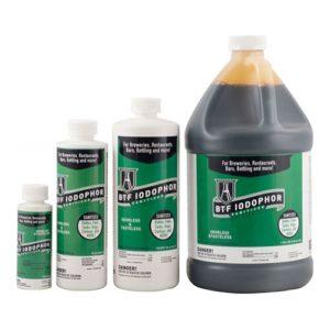 BTF Iodophor Sanitizer - 4 oz - CL30A