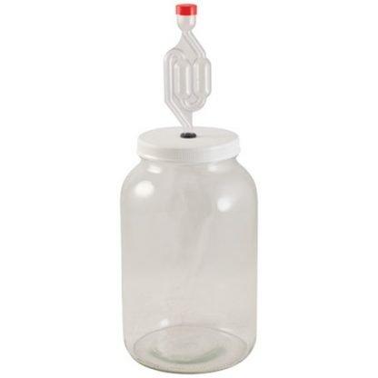 1 Gallon Glass Jar Fermenter Kit - FE307
