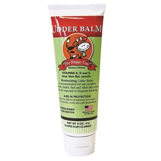 The Happy Cow Udder Balm Moisturizing Cream 3 oz