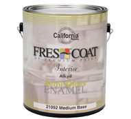 California Paints GAL Premium Alkyd S/G White