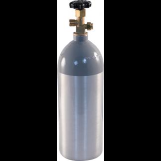 2.5 lb Aluminum CO2 Tank - D1055
