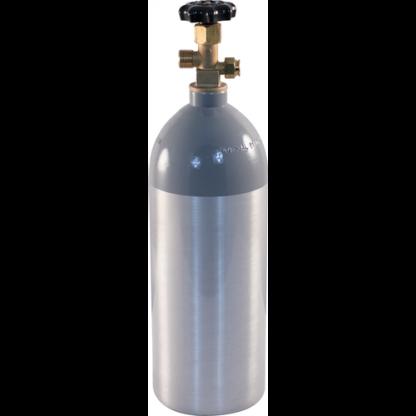 5 lb Aluminum CO2 Tank - D1056