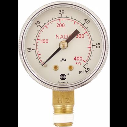 Gauge - Low Pressure (0-60 psi) - D1090