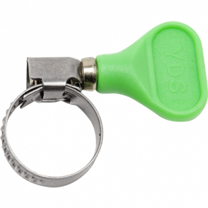 S/S Hose Clamp w/ Thumb Screw - Green - 3/4 inch - H955